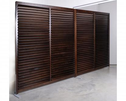 cloisons ajour es cloison persienn e lames persiennes obliques. Black Bedroom Furniture Sets. Home Design Ideas