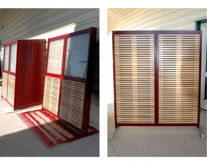 cloisons acoustiques cloison acoustique pleine ou semi vitr e. Black Bedroom Furniture Sets. Home Design Ideas