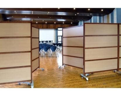 cloisons d coratives cloisons salle de r union cloison mobile multidecor. Black Bedroom Furniture Sets. Home Design Ideas
